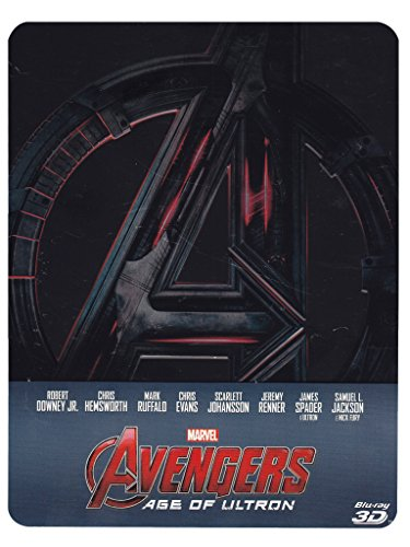 Avengers - Age Of Ultron (2D+3D steelbook - edizione limitata) [3D Blu-ray] [IT Import]