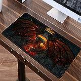 World of Warcraft Gaming Mauspad Große Mode Mousepad Für Geschwindigkeit Gamer Laptop Gummi Notebook Mat B