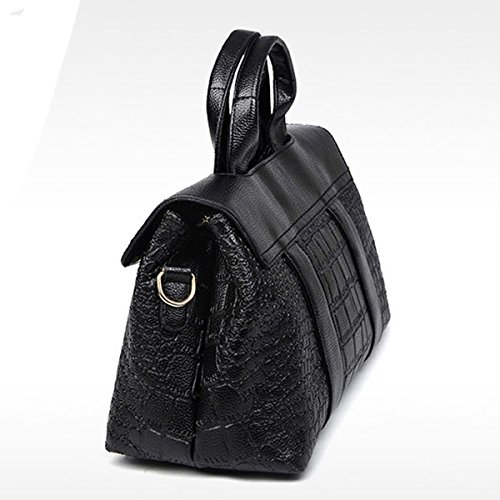 Lady Fashion Crocodile Pattern Borsa A Tracolla Satchel Crossbody Borsa Borse Tote Multicolor Blue
