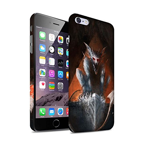 Offiziell Chris Cold Hülle / Matte Snap-On Case für Apple iPhone 6+/Plus 5.5 / Vampirfledermaus Muster / Wilden Kreaturen Kollektion Vampirfledermaus
