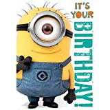 Despicable Me Carte son General d'anniversaire