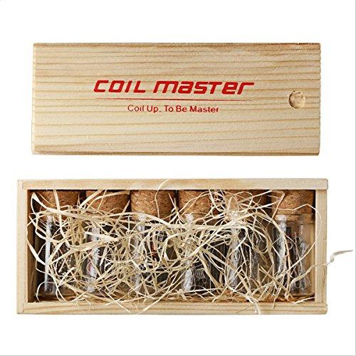 Original Coil Master 4 Sorten vorgefertigte spezial Coils in formschöner Verpackung