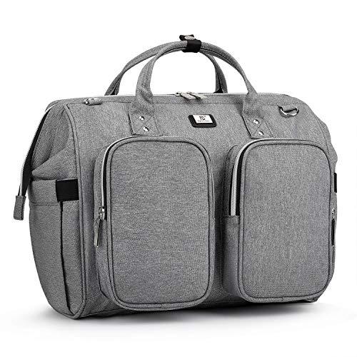 Sac a Langer Bandoulière Bébé Bag Grande capacité en Oxford Imperméable Organiseur Original...