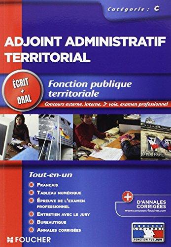 Adjoint administratif territorial Tout le concours 2013