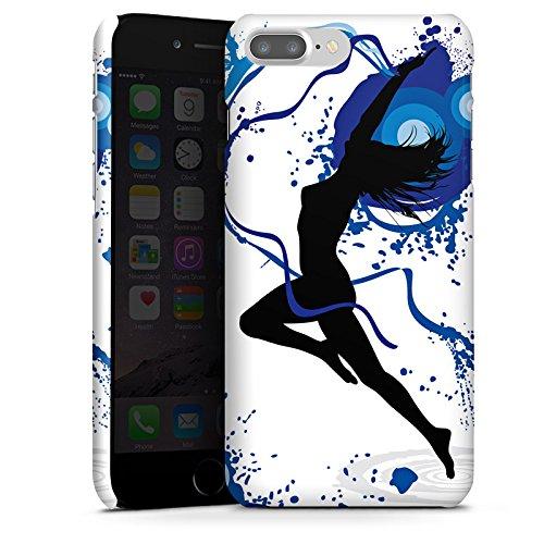 Apple iPhone X Silikon Hülle Case Schutzhülle Tanzen Dance Weiblich Premium Case glänzend