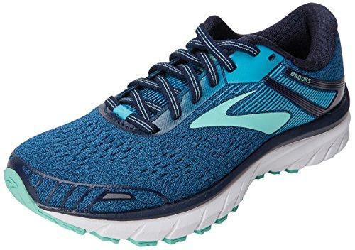 Brooks Damen Adrenaline GTS 18 Laufschuhe, Blau (Navy/Teal/Mint 1b495), 39 EU Brooks Laufschuhe Damen