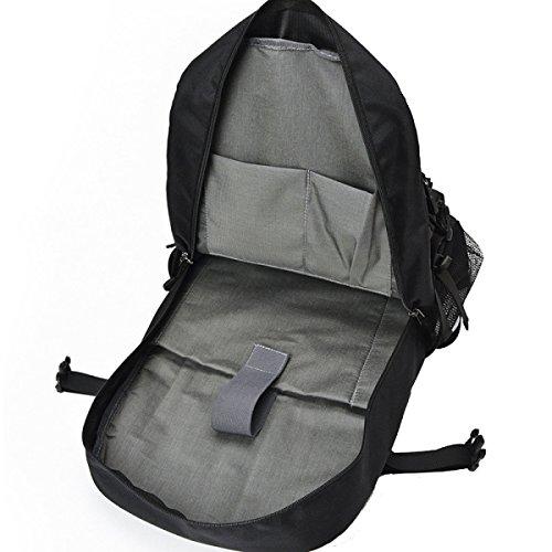 Yy.f Neue Reisetasche Outdoor-Klettertasche Art Und Weise Nylon-Umhängetasche Mit Großer Kapazität Camping Reisen Wandern Taschen Black