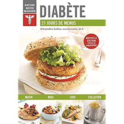 Diabète : 21 jours de menus