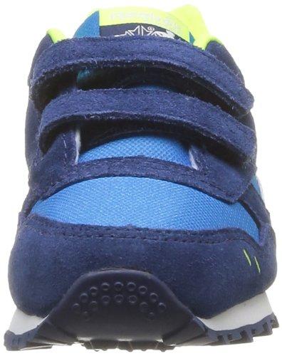 Reebok Jungen Gl 1500 Td Gymnastikschuhe Blu (Bleu (Blue/Blue/Yellow/Grey/Wht))