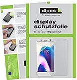 dipos I 2X Schutzfolie matt passend für BQ Aquaris U2 Folie Bildschirmschutzfolie