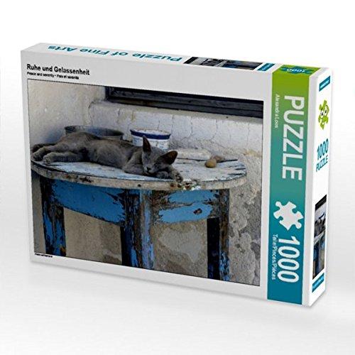Ruhe und Gelassenheit 1000 Teile Puzzle quer (CALVENDO Glaube)