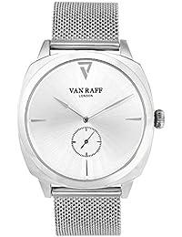 Van Raff Mesh Strap Silver Dial Analog Watch For Men-VF1967