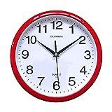 Reloj De Pared, chuangrong silenciosa,, rojo