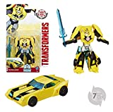 Hasbro Transformers B0907ES0 - Robots In Disguise Warrior Bumblebee, Actionfigur