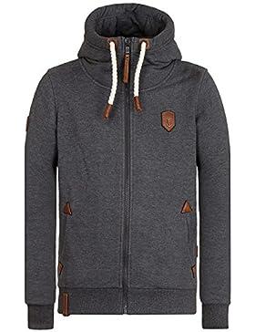 Naketano Male Zipped Jacket Schwarzkopf IV