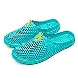 Herren Schuhe Unisex aushöhlen Casual Paar Strand Sandale Flip Flops Schuhe (35, Mintgrün)