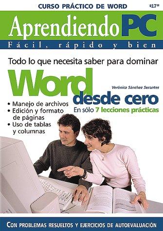 Curso Practico De Word: Aprendiendo Pc, Facil, Rapido Y Bien