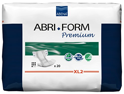 Abena Abri-Form Premium Inkontinenzeinlage XL2, 110-170 cm Hüfte/Taille, All-In-One, 3400 ml