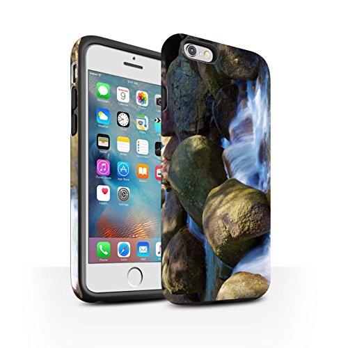 STUFF4 Matte Harten Stoßfest Hülle / Case für Apple iPhone 6+/Plus 5.5 / Feuerwerk Muster / Thailand Landschaft Kollektion Felsigen Bach