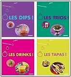 L'apéro - Coffret en 4 volumes, Ô les Dips ! ; Ô les trios ! ; Ô les drinks ! ; Ô les tapas !