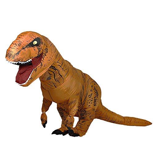 Imagen de disfraces inflables del dinosaurio de t rex para el unisex adulto de un tamaño alternativa