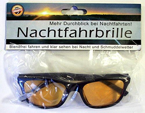 Nachtfahrbrille Night Driving Glasses Nachtsichtbrille Brille Kontrastbrille