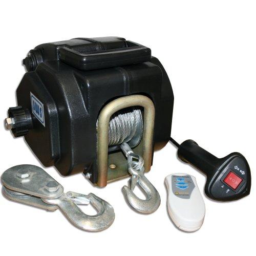Bootswinde Elektrische Seilwinde 12V Funkfernbedienung