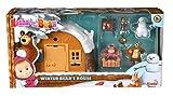 Playset Casa del Oso con nieve 2 figuras y accesorios de Masha y el...