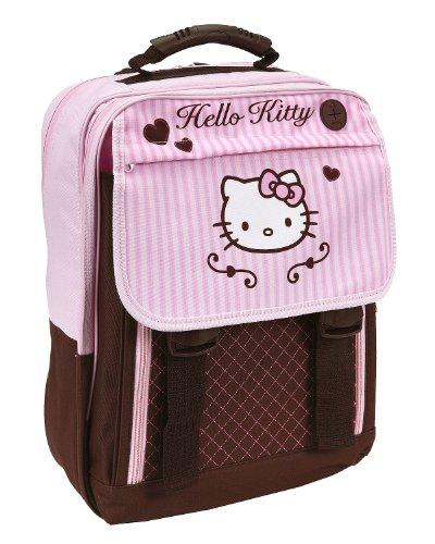 Undercover HK13830 Schulrucksack Hello Kitty, ca. 43 x 35 x 10 cm (Schulrucksack Kitty Hello)