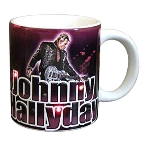 Mug Johnny Hallyday à diodes clignotantes