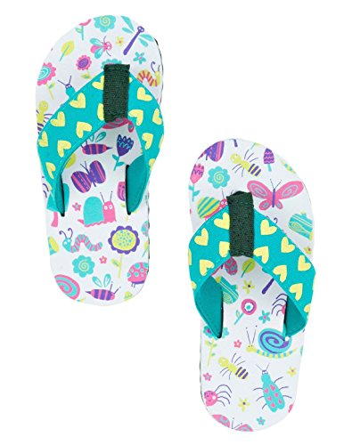 Petit flip Blue House Hatley Enfants Flops - Bugs Girly Multicolore