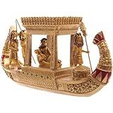 Goldene ägyptische Canopy Boot