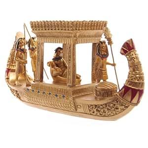 Puckator ESP12 Figurine Sarcophage Anubis et Momie Or