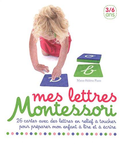 Mes lettres Montessori par Collectif
