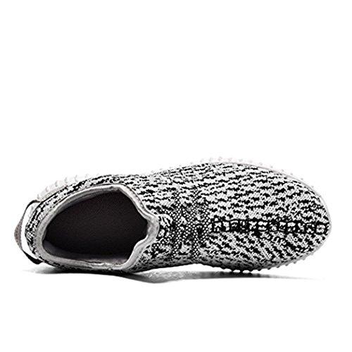 ailishabroy , Chaussures de running pour homme gris clair