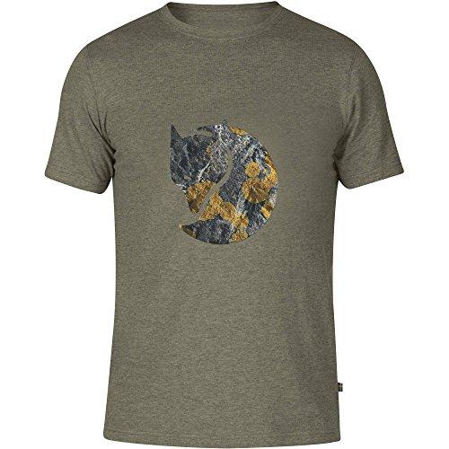 Fjällräven Herren Rock Logo T-Shirt, Tarmac, XS Preisvergleich