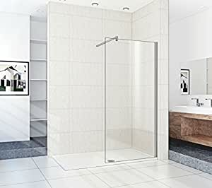1700 x 700 walk in shower enclosure with bath replacement. Black Bedroom Furniture Sets. Home Design Ideas