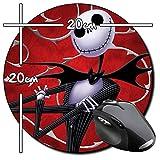 The Nightmare Before Christmas Tim Burton G Tapis De Souris Ronde Round Mousepad PC