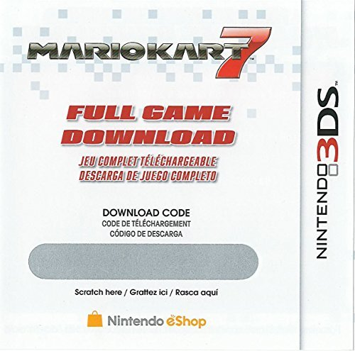 Mario Kart 7 Full Game Download Code - Nintendo 3DS eShop by Nintendo (Code Nintendo 3ds-eshop)