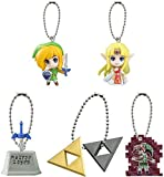 Gashapon the Legend of Zelda: A Link to the Past2 Mascot Swing Set of All