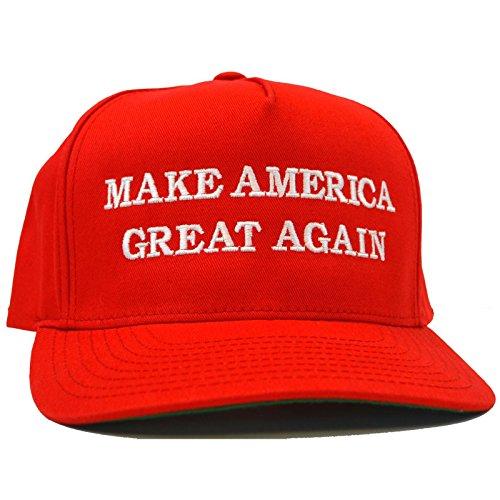 FBGC Donald Trump Hat Make America Great Again 2016 Red USA Election Baseball Cap Fancy Dress