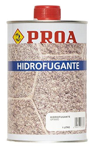 Hidrofugante Proa para piedra.
