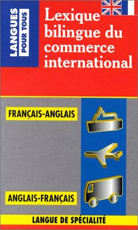 Lexique bilingue du commerce international