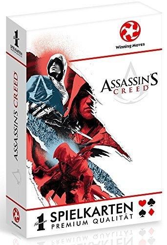 Winning Moves 30546 Number 1 Spielkarten - Assassins Creed, Kartenspiel (S Creed Assassin Arno)