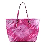 Tom & Eva 6228C Cabas bag fuchsia