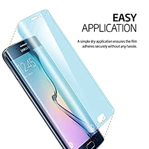 Bestsuit Curved Full Coverage Screen Guard for Samsung Galaxy S7 Edge - Transparent
