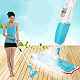 #10: Floor Mop With Removable Washable Cleaning Pad And Integrated Water Spray Mechanism (Random Color)