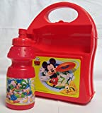 Disney Mickey Mouse & Friends Carry-along Hardcase Lunch Box with Sport Bottle 350ml