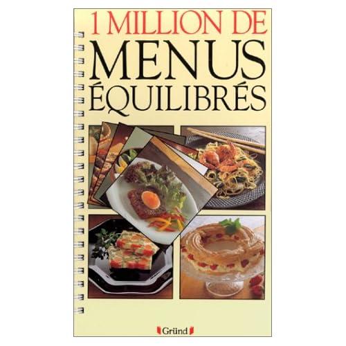 1 million de menus équilibrés