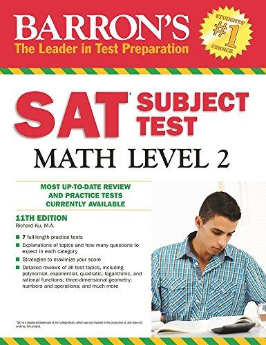 Sat Subject Test Math (Barron's Sat Subject Test Math Level 2)